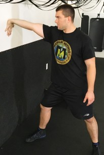 Bicep and Forearm Wall Stretch 3