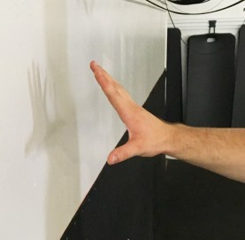 Bicep and Forearm Wall Stretch 2