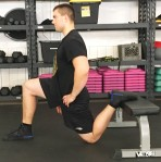 hip Flexor quad Couch Stretch Mobility 9