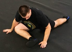 Pigeon Pose hip Glute Stretch 3