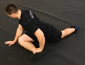 Pigeon Pose hip Glute Stretch 2