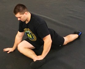 Pigeon Pose hip Glute Stretch 1