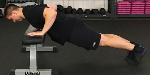 Modified Push Up Exercise 1