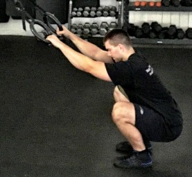 Modified Paleo Squat Exercise 2