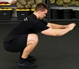 Daily 30 Paleo Squat Exercise 2