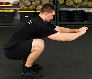 Daily 30 Paleo Squat Exercise 2