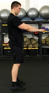 Daily 30 Paleo Squat Exercise 1