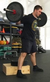 How to Box Squat Leg Strength Exercise 4