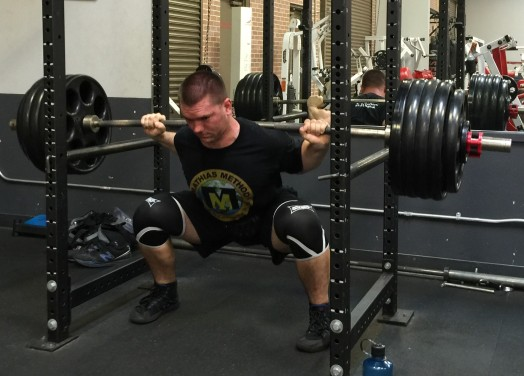 485 Squat for Powerlifting