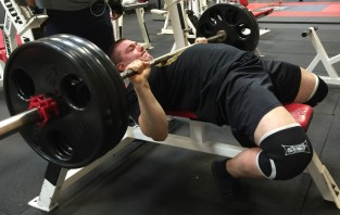 315 Bench Press Powerlifting Exercise