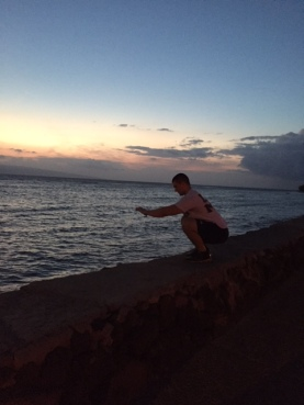 Daily 30 Bodyweight Exercises by the ocean 1