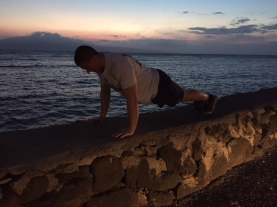 Daily 30 Bodyweight Exercises by the ocean 2