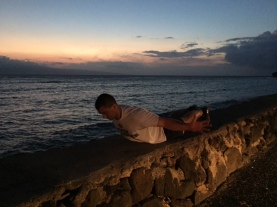 Daily 30 Bodyweight Exercises by the ocean 3