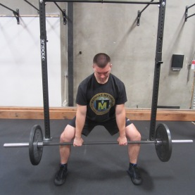 Sumo Deadlift Exercise 3