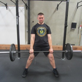 Sumo Deadlift Exercise 2