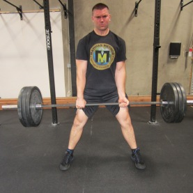 Sumo Deadlift Exercise 1