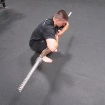 Calf Soleus Stretch Mobility Exercise 4