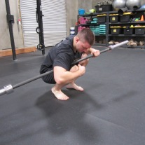 Calf Soleus Stretch Mobility Exercise 3