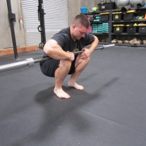 Calf Soleus Stretch Mobility Exercise 1