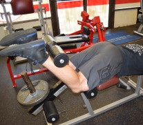 Hamstrings Lying Leg Curls 2
