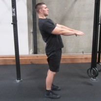 Active Hamstring Stretch Warm Up 4