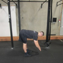 Active Hamstring Stretch Warm Up 2