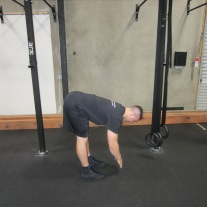 Active Hamstring Stretch Warm Up 1