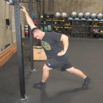 Lat Shoulder Flexion Stretch 3