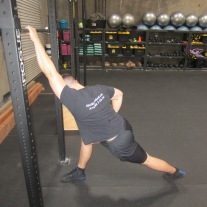 Lat Shoulder Flexion Stretch 2