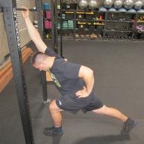 Lat Shoulder Flexion Stretch 8