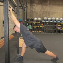 Lat Shoulder Flexion Stretch 6