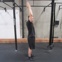 Healthy Shoulder Flexion-Extension Warm Up Exercise 2