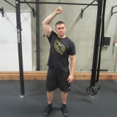 Single Arm Swings Shoulder Warm Up Exercise 5