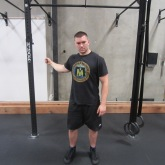 Single Arm Swings Shoulder Warm Up Exercise 4