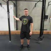 Single Arm Swings Shoulder Warm Up Exercise 3