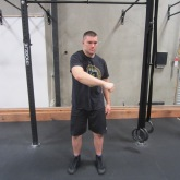 Single Arm Swings Shoulder Warm Up Exercise 2