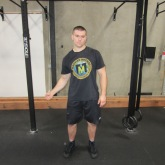 Single Arm Swings Shoulder Warm Up Exercise 1
