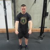 Shoulder Scapular Elevation-Depression Exercise 3