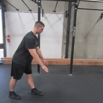 Hamstring Stretch Warm Up Exercise 4