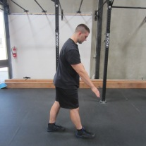 Hamstring Stretch Warm Up Exercise 2