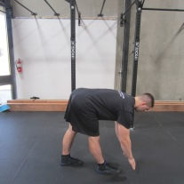 Hamstring Stretch Warm Up Exercise 1