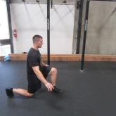 Hip Flexor Stretch Warm Up Exercise 5
