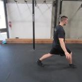 Hip Flexor Stretch Warm Up Exercise 4