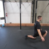 Hip Flexor Stretch Warm Up Exercise 3