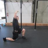 Hip Flexor Stretch Warm Up Exercise 1
