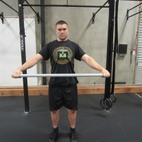 Shoulder Dislocation Mobility Exercise 1