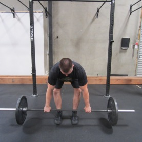 Barbell Row Exercise 5
