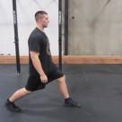 Walking Lunges Leg Exercise 1