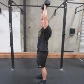 Dumbbell Overhead Press Exercise 3