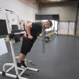 Dips with Chains Exercise 2